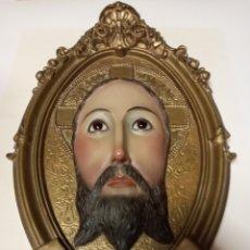"""Arte: ESPECTACULAR PLAFÓN""""SANTO ROSTRO"""".QUE SE VENERA EN LA CATEDRAL DE JAÉN. ANTIGUA IMAGEN RELIGIOSA.. Lote 223888651"""