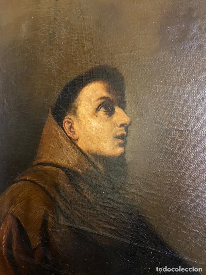 Arte: Tema religioso OLEO/lienzo medidas 110x85 con marco 125x100 - Foto 3 - 224057273