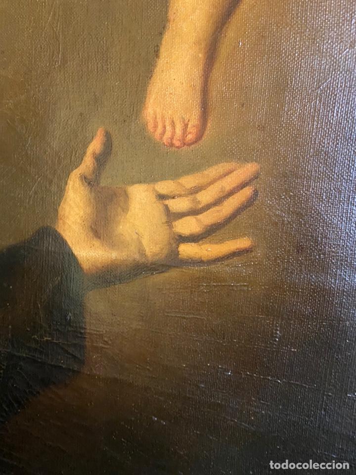 Arte: Tema religioso OLEO/lienzo medidas 110x85 con marco 125x100 - Foto 5 - 224057273