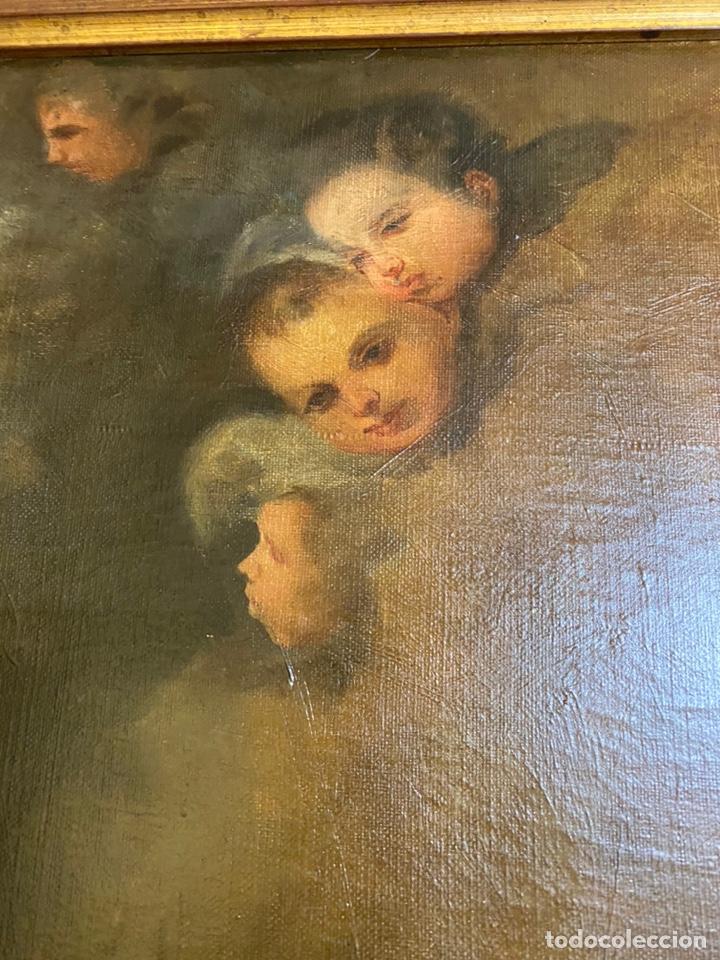 Arte: Tema religioso OLEO/lienzo medidas 110x85 con marco 125x100 - Foto 6 - 224057273