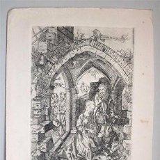 Arte: GRABADO RELIGIOSO. LA NATIVIDAD. Lote 224388408
