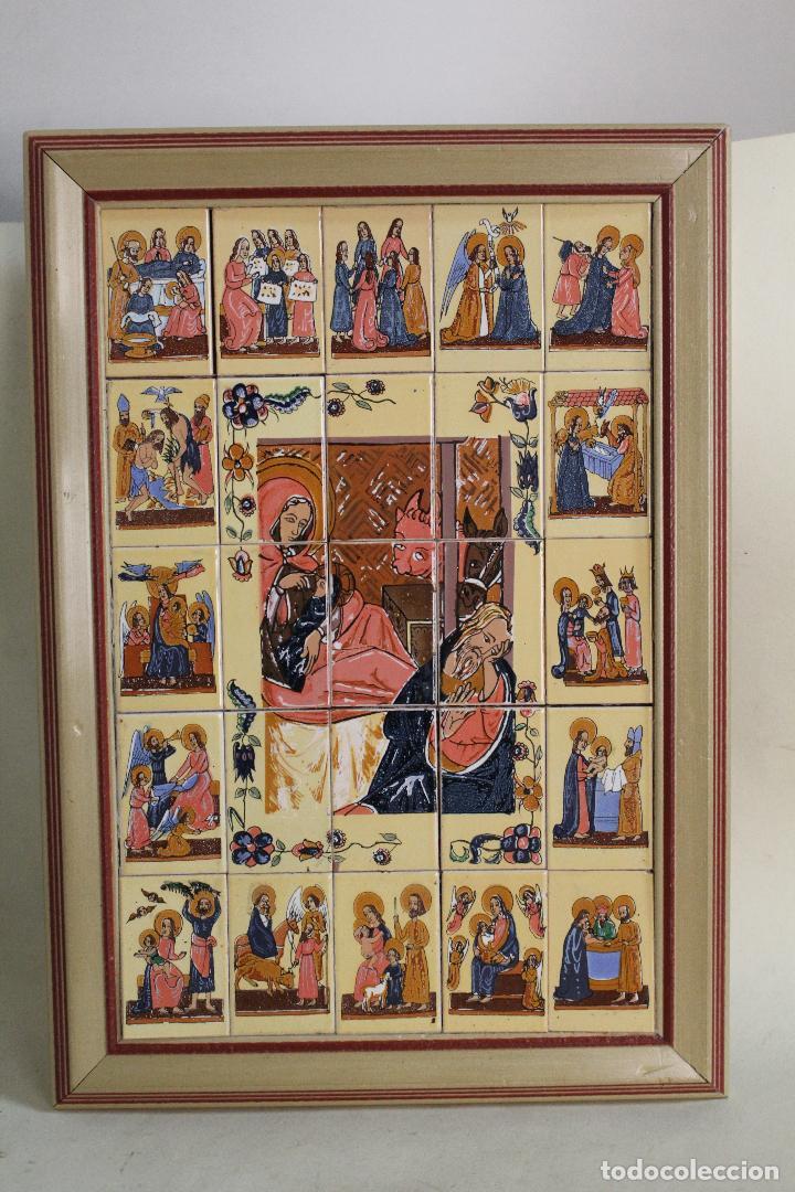 MURAL DE CERAMICA DE BELEN (Arte - Arte Religioso - Retablos)