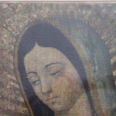 Arte: BONITO CUADRO-VIRGEN DE GUADALUPE-MEXICO. Lote 224847380