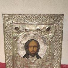 Arte: ICONO RUSO. CRISTO SALVADOR. Lote 224940488