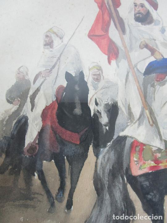 Arte: Josep Tapiró y Baró (Reus 1836 - Tánger 1913) - Acuarela Tánger 1913 - Foto 13 - 224958332