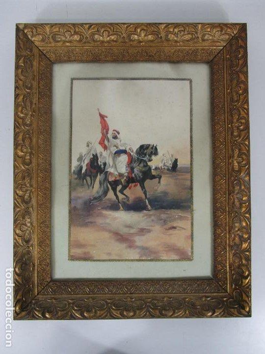Arte: Josep Tapiró y Baró (Reus 1836 - Tánger 1913) - Acuarela Tánger 1913 - Foto 22 - 224958332