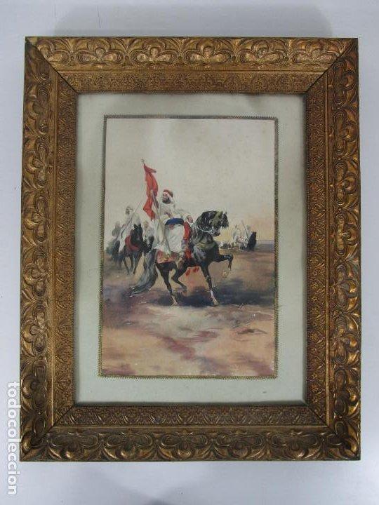 JOSEP TAPIRÓ Y BARÓ (REUS 1836 - TÁNGER 1913) - ACUARELA TÁNGER 1913 (Arte - Arte Religioso - Pintura Religiosa - Acuarela)
