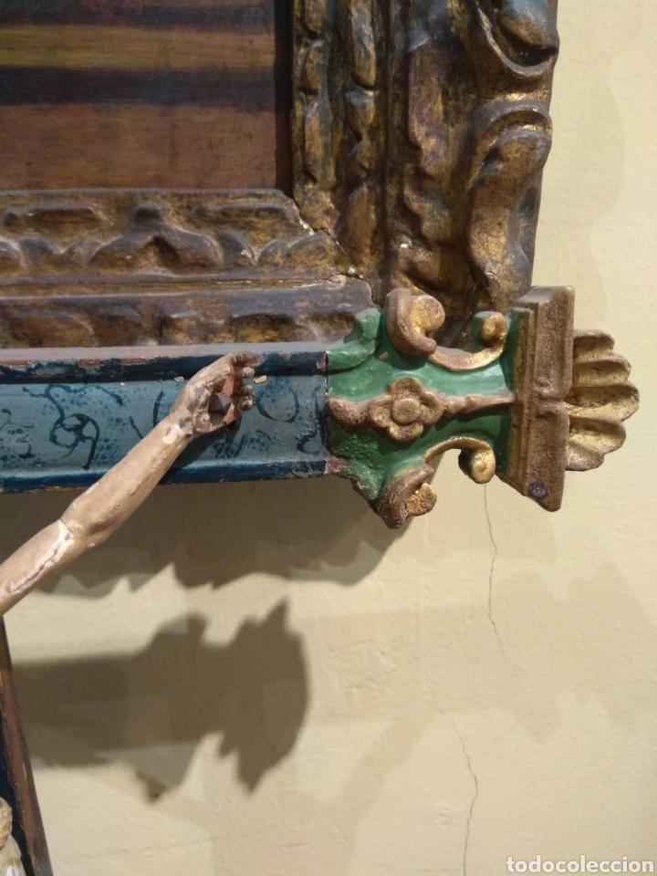 Arte: Escultura de Cristo en la Cruz Madera Policromada XVIII - Foto 22 - 50235814