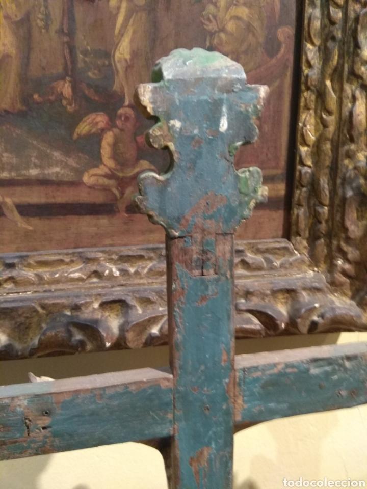 Arte: Escultura de Cristo en la Cruz Madera Policromada XVIII - Foto 32 - 50235814