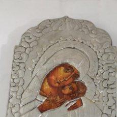 Arte: ICONO DE PLATA LAMINADA. Lote 225841390