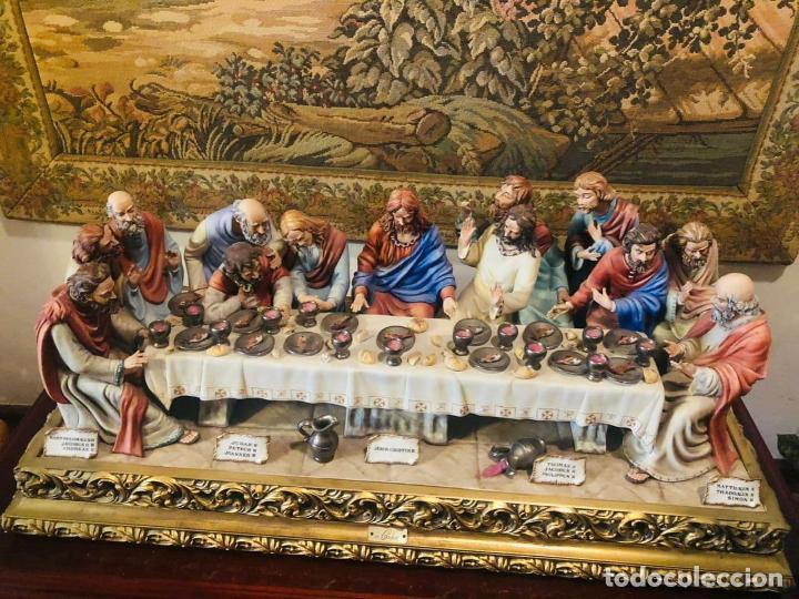 LA ÚLTIMA CENA (Arte - Arte Religioso - Escultura)