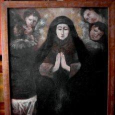 Arte: VIRGEN ORANTE. SIGLO XVIII. ÓLEO/LIENZO. 74X60 CMS.. Lote 226143320
