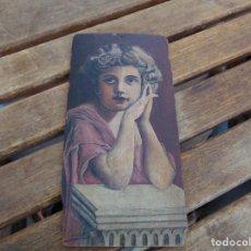 Arte: ANTIGUA Y PEQUEÑA, PINTURA OLEO SOBRE TABLE MADERA SAN JUANITO ?? FIRMADO CASTILLO. Lote 226341270