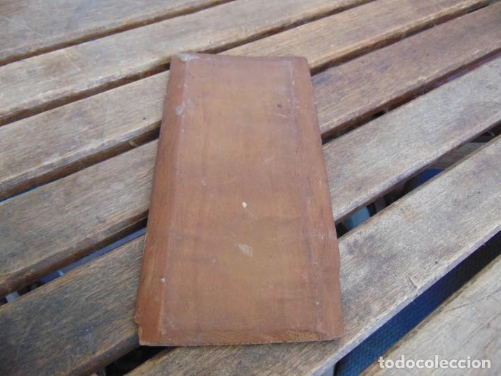 Arte: ANTIGUA Y PEQUEÑA, PINTURA OLEO SOBRE TABLE MADERA SAN JUANITO ?? FIRMADO CASTILLO - Foto 8 - 226341270