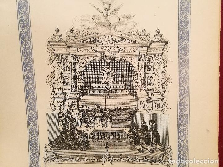 Arte: RECUERDO DE LA 1ª COMUNIÓN. S.XIX. - Foto 3 - 226473090