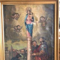 Arte: ÓLEO RELIGIOSO SIGLO XVIII 97X71CM. Lote 226783689
