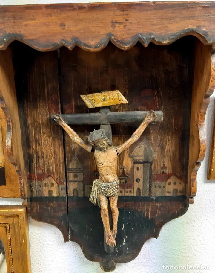 Arte: Cristo madera policromada - Foto 5 - 226807290