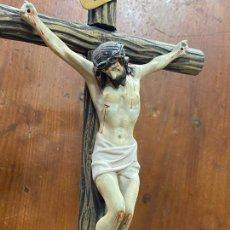 Art: ESCULTURA RELIGIOSA CRISTO DIOS CRUCIFICADO. Lote 226810750