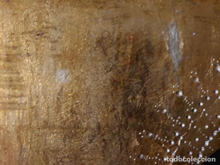 Arte: OLEO SOBRE TABLA LA VIRGEN CON EL NIÑO EPOCA QUATTROCENTO 85X70CM - Foto 17 - 226837295
