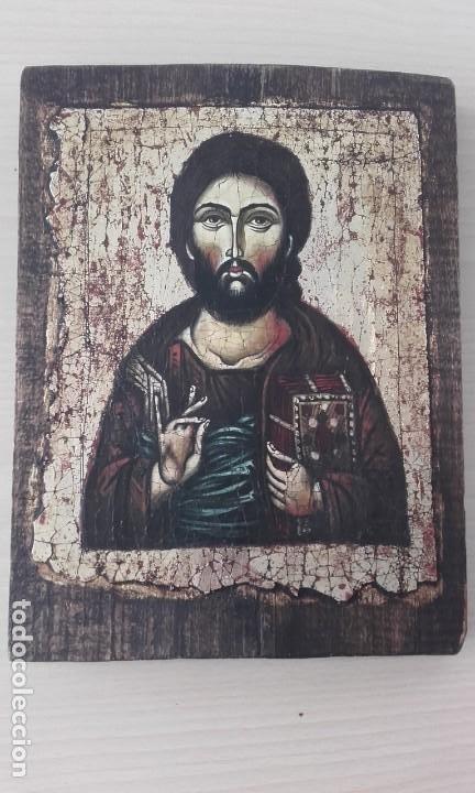 ICONO / PANTOCRÁTOR /ORIGINAL (Arte - Arte Religioso - Iconos)