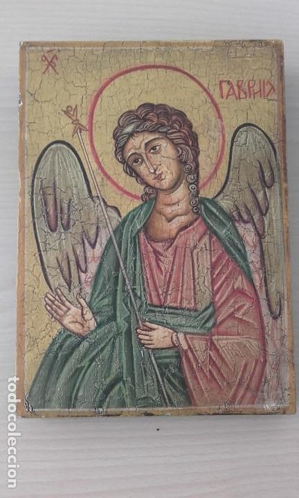 ICONO / ARCÁNGEL / ORIGINAL (Arte - Arte Religioso - Iconos)