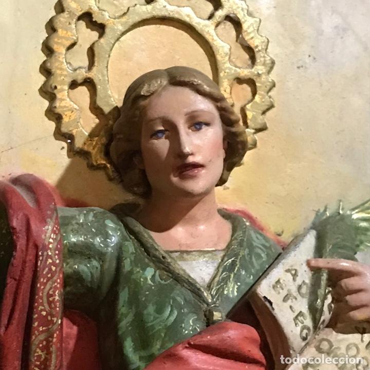 Arte: Antiguo San Pancracio. Estuco. 1900 - Foto 2 - 226960975