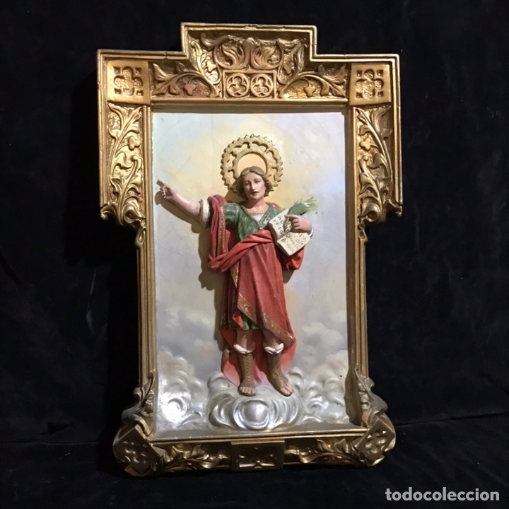 ANTIGUO SAN PANCRACIO. ESTUCO. 1900 (Arte - Arte Religioso - Escultura)
