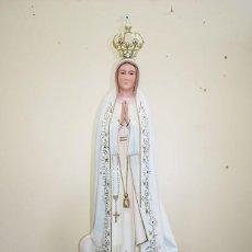 Arte: FIGURA RELIGIOSA ESTATUA VIRGEN DE FÁTIMA 105 CM. Lote 229683630