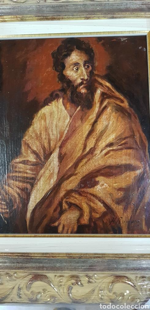 OLEO SOBRE COBRE (Arte - Arte Religioso - Pintura Religiosa - Oleo)