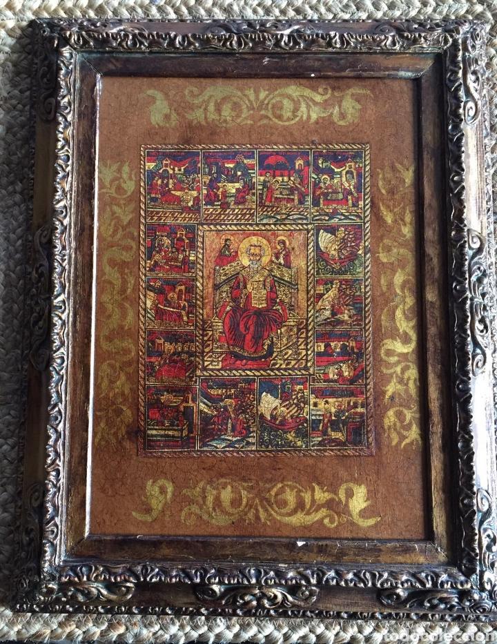 Arte: Cuadro religioso en acrilico sobre tabla - Foto 2 - 229816480
