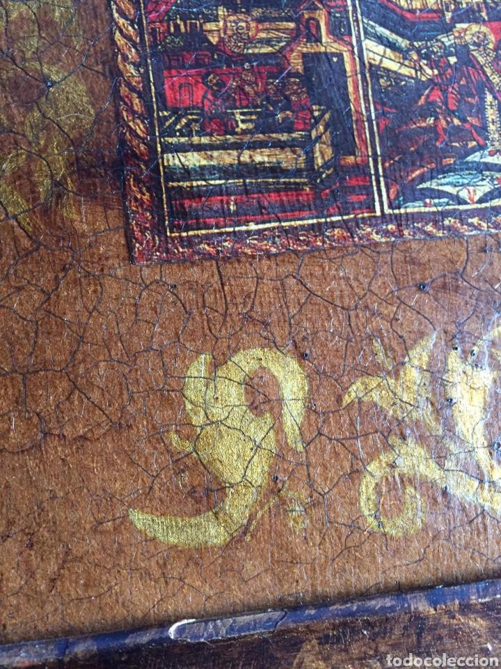 Arte: Cuadro religioso en acrilico sobre tabla - Foto 4 - 229816480