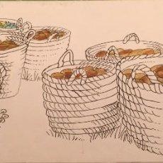 Arte: EL PAN DE VIDA .PIERRE MONNERAT (SUIZA 1917-ESPAÑA 2005). Lote 230506865
