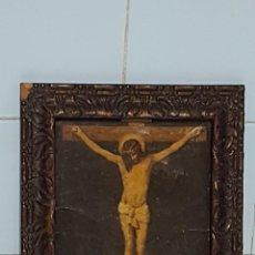Arte: OLEO CRISTO EN LA CRUZ. Lote 230537220
