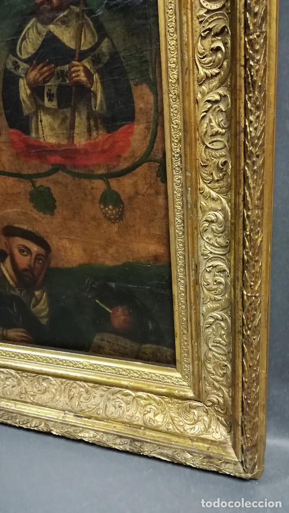Arte: OLEO VIRGEN DE LA ESCALERA SIGLO XVIII - Foto 5 - 231295635