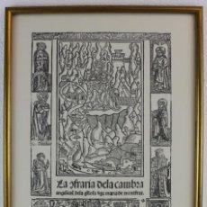 Arte: SELECCIÓ DE 11 GRAVATS DE LA MARE DE DÉU DE MONTSERRAT SEGLES XVI AL XX (ED. 1981). ENMARCADOS. Lote 231351370