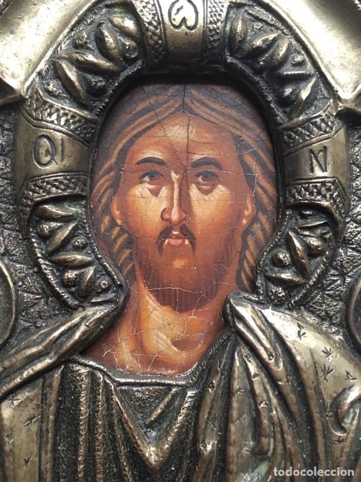 Arte: ANTIGUO ICONO - ARTE RELIGIOSO - Foto 2 - 231964945