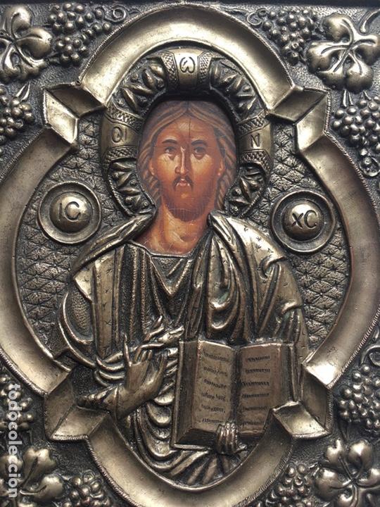 Arte: ANTIGUO ICONO - ARTE RELIGIOSO - Foto 4 - 231964945