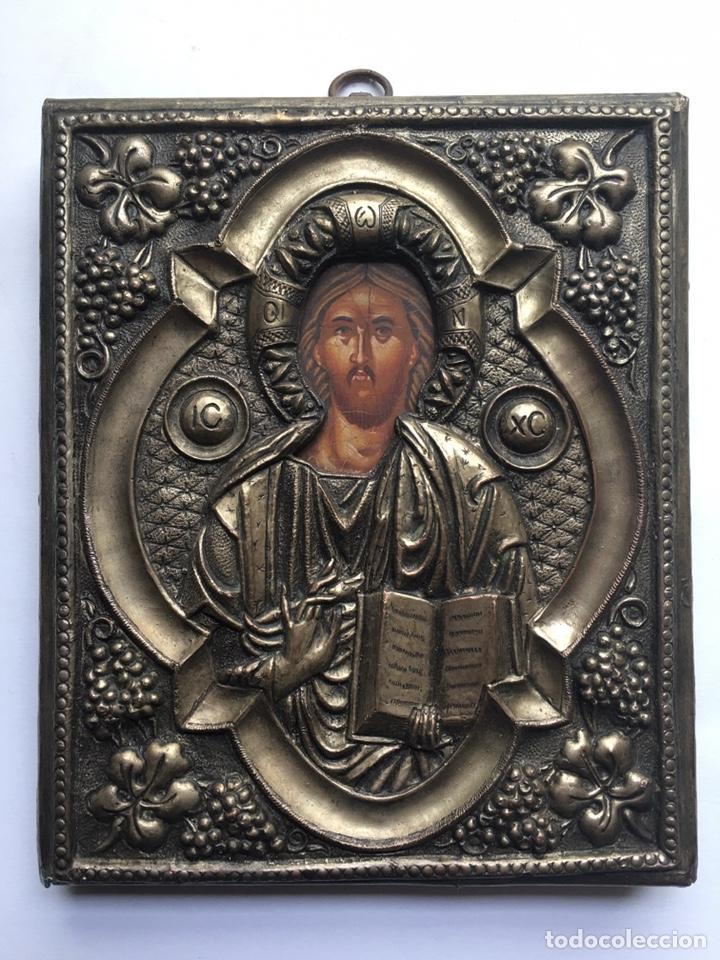 Arte: ANTIGUO ICONO - ARTE RELIGIOSO - Foto 6 - 231964945