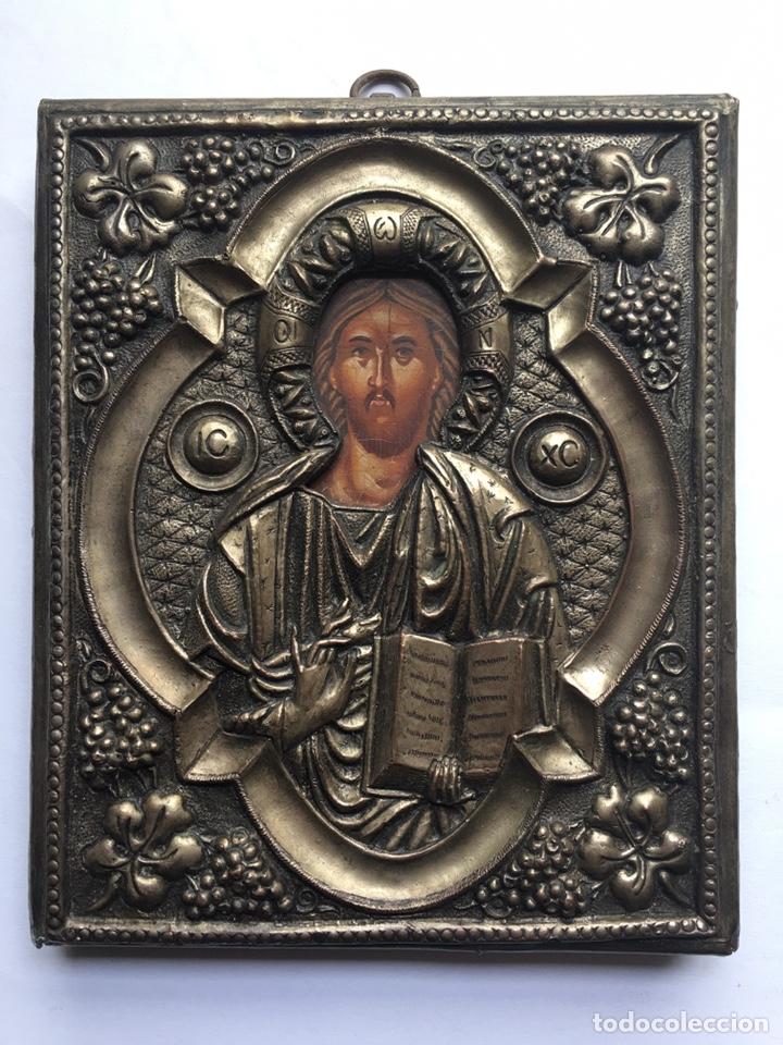 ANTIGUO ICONO - ARTE RELIGIOSO (Arte - Arte Religioso - Pintura Religiosa - Otros)