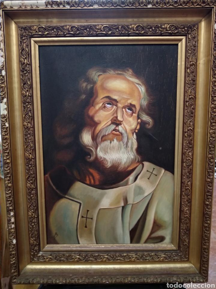 ÓLEO SOBRE LIENZO (Arte - Arte Religioso - Pintura Religiosa - Oleo)