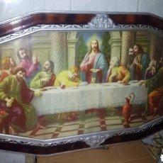 Arte: CUADRO RELIGIOSO, GRANDE, ANTIGUO. Lote 232306445