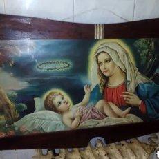 Arte: CUADRO RELIGIOSO,GRANDE, ANTIGUO.. Lote 232307190