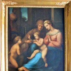 Arte: ESCUELA ITALIANA SEGUIDOR DE GIULIO ROMANO ( SIGLO XVI ) NUESTRA SEÑORA CON EL NIÑO JESUS. Lote 232567220