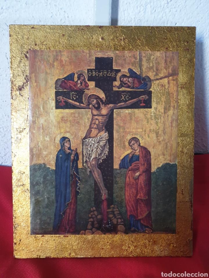ANTIGUO ICONO RELIGIOSO (Arte - Arte Religioso - Iconos)