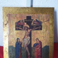 Arte: ANTIGUO ICONO RELIGIOSO. Lote 232797310