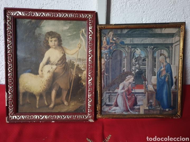 ANTIGUOS CUADROS RELIGIOSOS (Arte - Arte Religioso - Iconos)