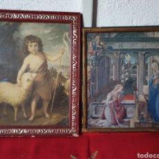 Arte: ANTIGUOS CUADROS RELIGIOSOS. Lote 234336945