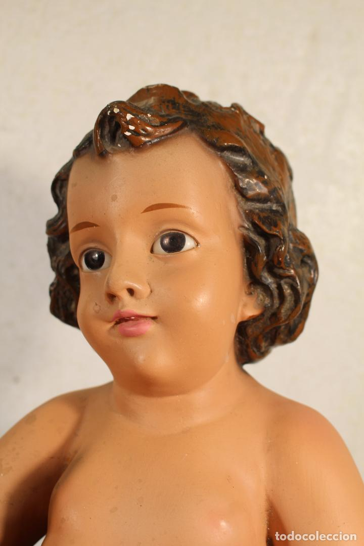 FIGURA NIÑO JESUS ESCAYOLA DE 53CM. (Arte - Arte Religioso - Escultura)