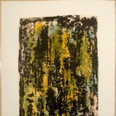 Arte: FRED THIELER, ABSTRACT COMPOSITION. Lote 234516845