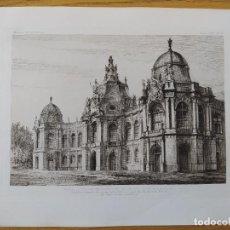 Arte: EXPOSITION MILLENAIRE DE BUDAPEST, FACADE PRINCIPALE DU GROUPE RENAISSANCE, MR.ALPAR IGNATX, 1896 10. Lote 234564740